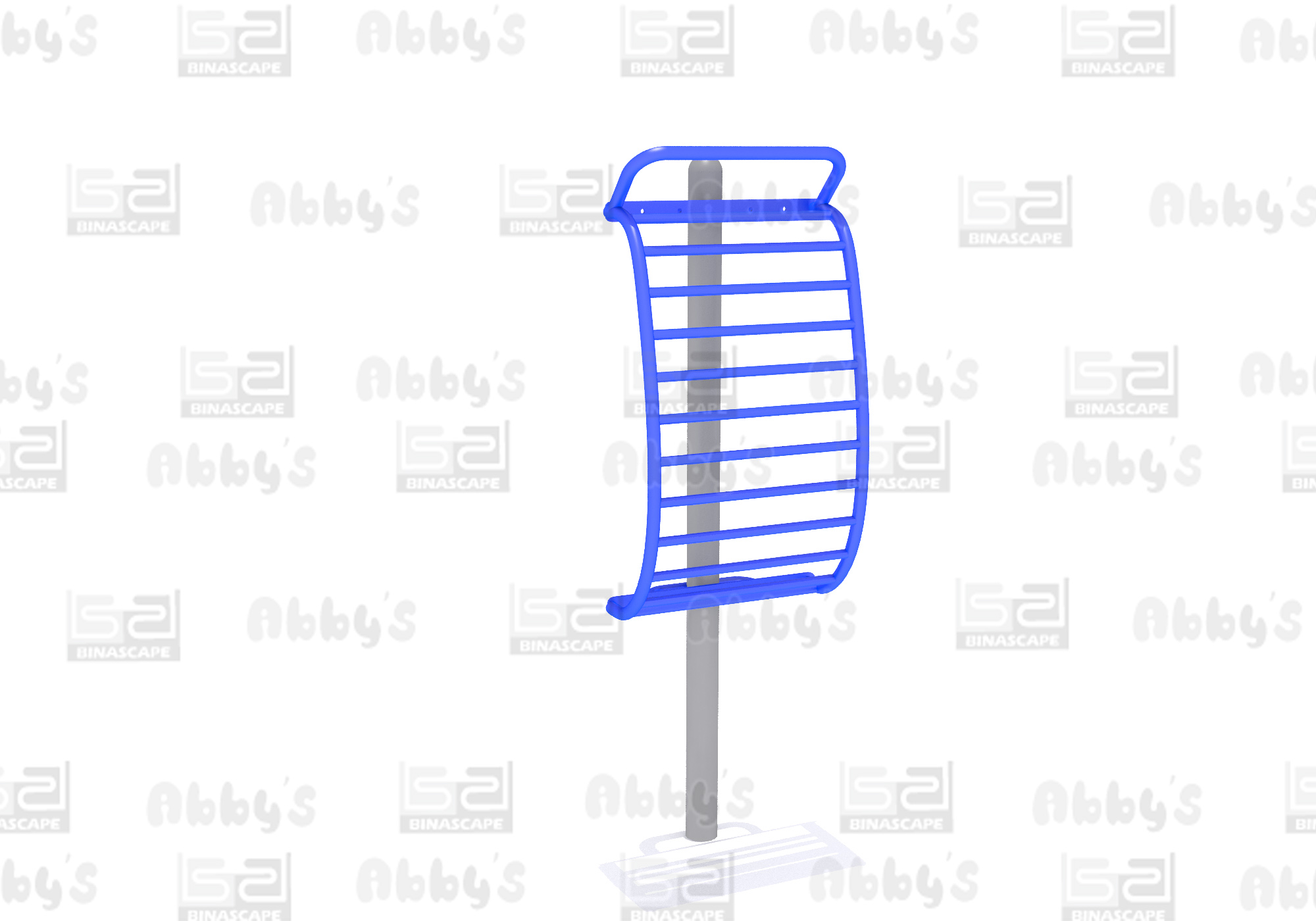 BS 005F BACK STRETCHING RACK