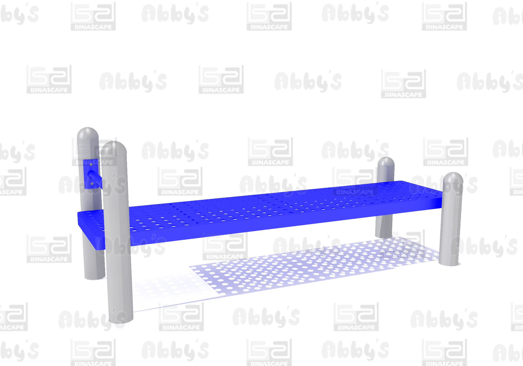 BS 017F SIT UP BENCH