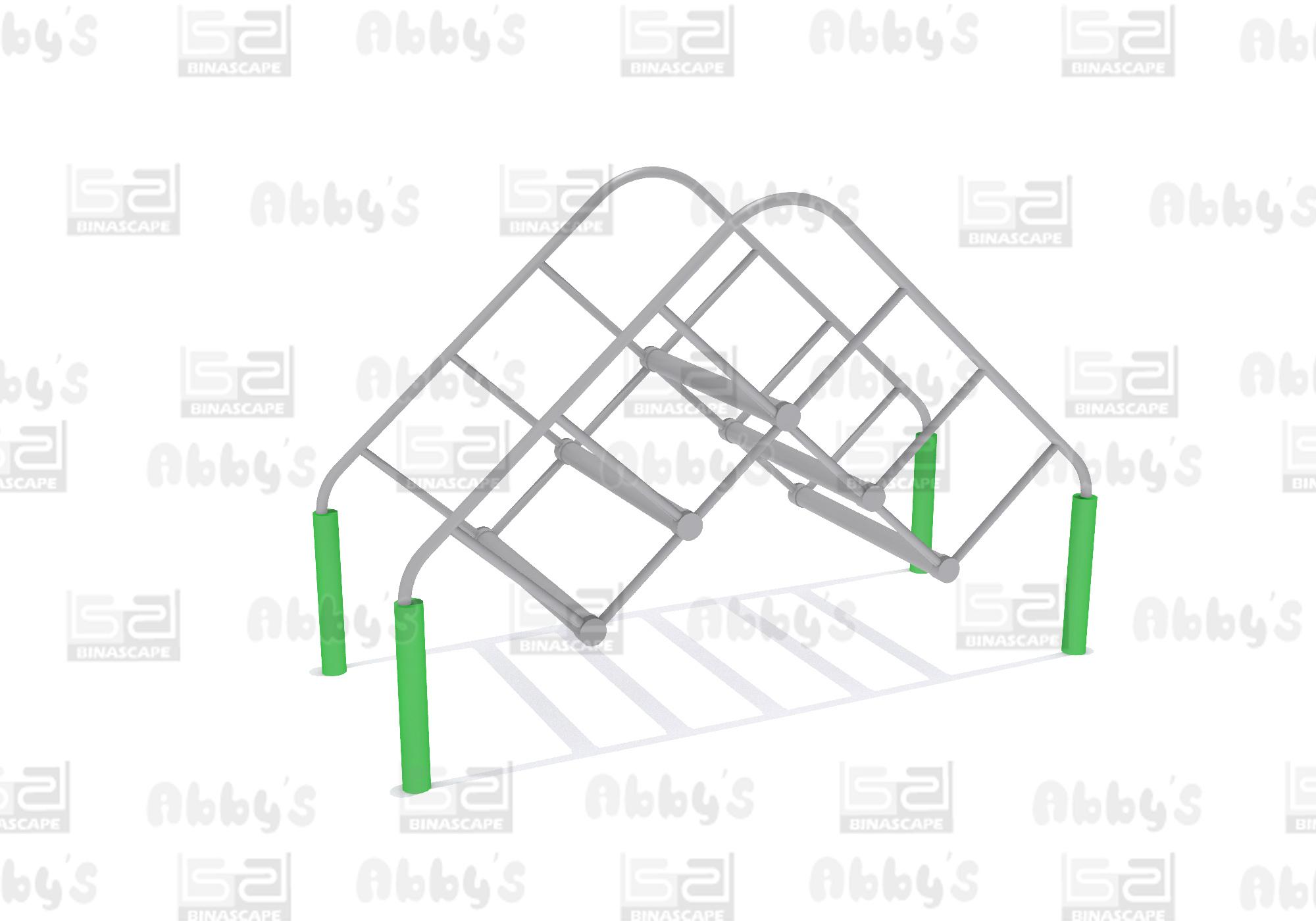 bS 014FC - BRIDGE LOG TRAINER