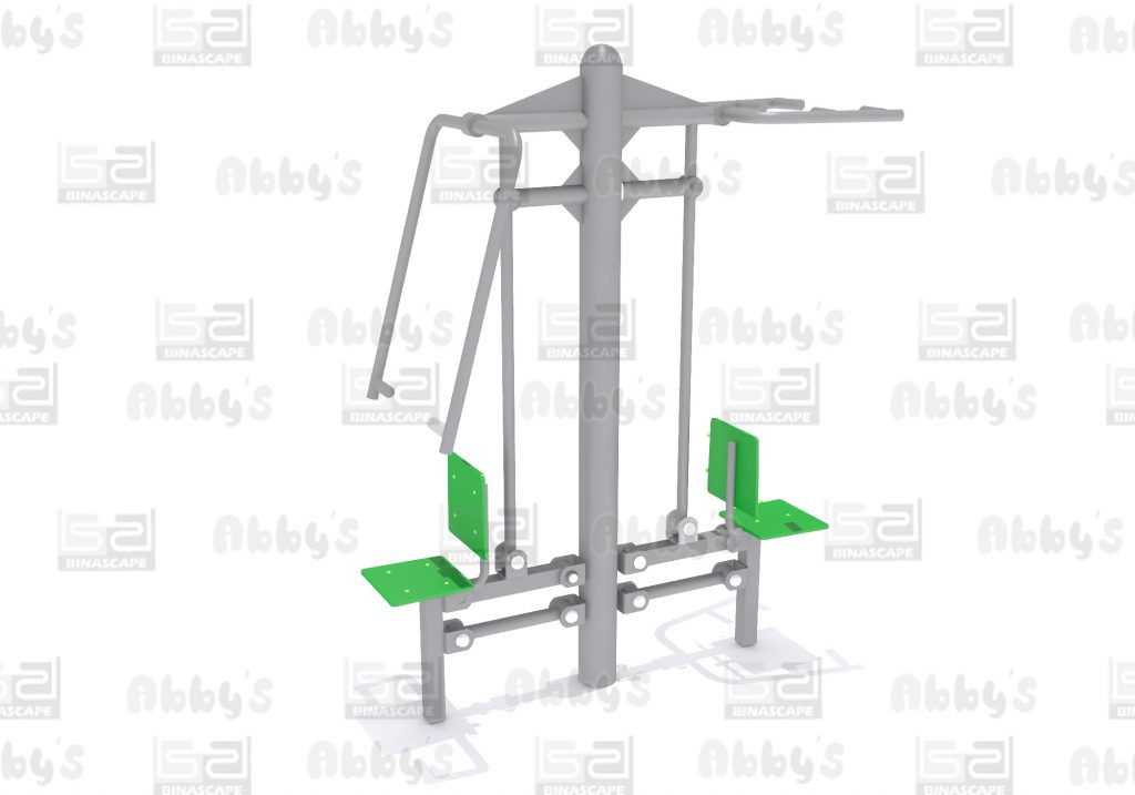 Bs 012GC - PULL DOWN & CHEST PRESS