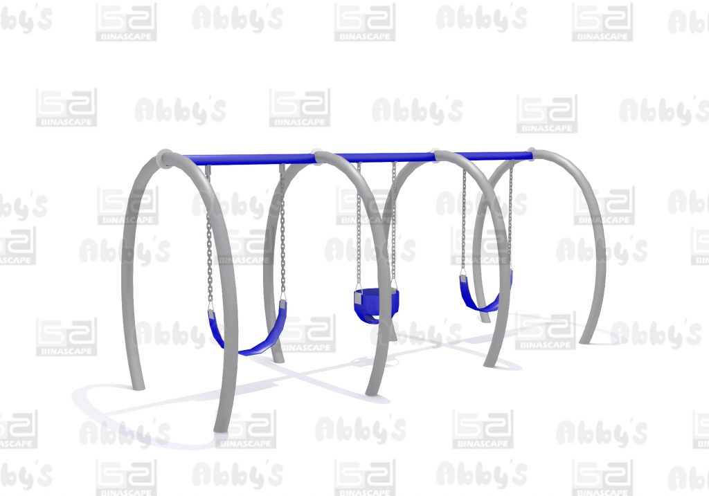 Bs SWING CURL 3 SEATER